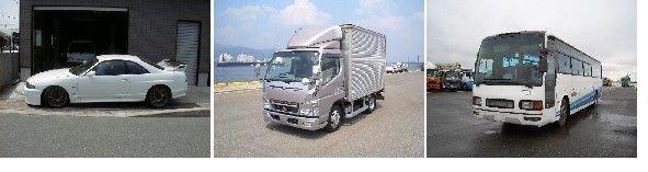 Most popular Japanese used cars and trucks exports